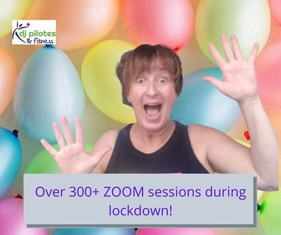 300 Pilates Zoom Sessions 400