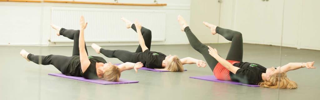 Pilates exercises in Bridgwater